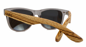 zebra wood sunglasses