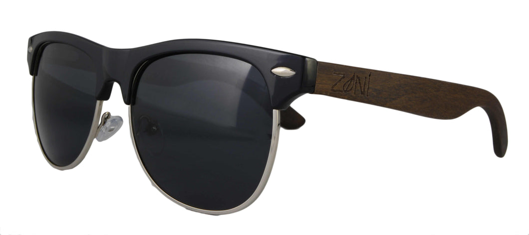 Ebony Wood Sunglasses // MARRAKESH