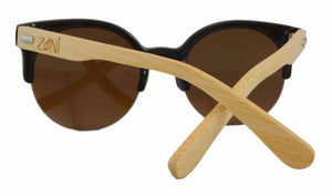 women's wooden sunglasses