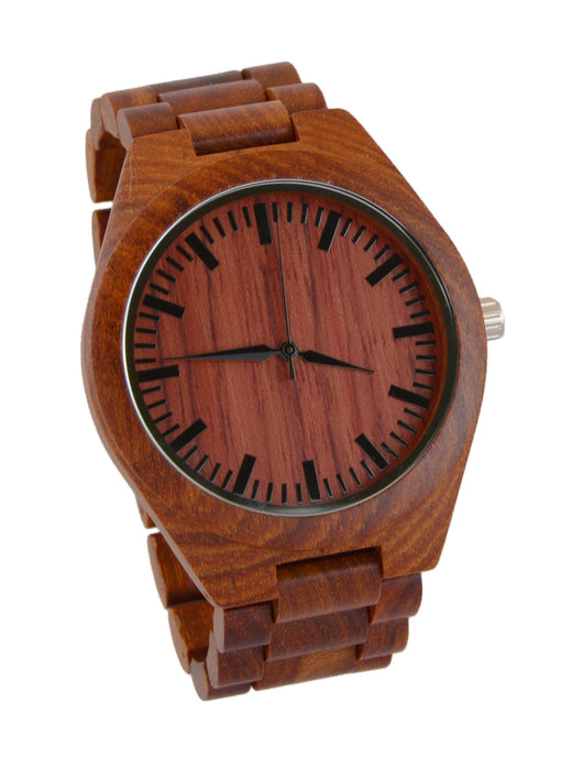 Rose Wood // Wood Band Watch