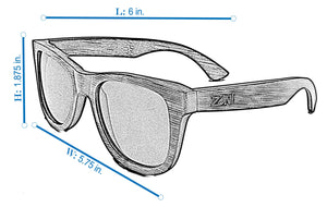 Skateboard Wood Sunglasses // THRESHER