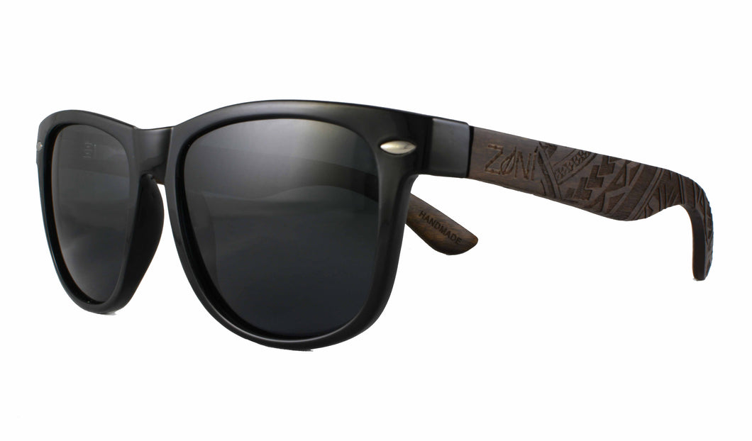 Ebony Wood Sunglasses // TRIBAL