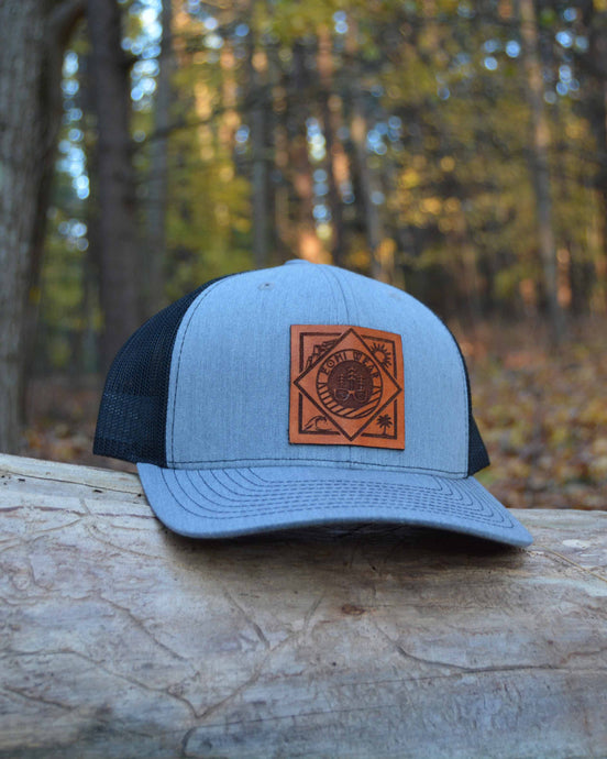 Four Corners Logo Snapback Trucker Hat