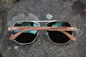 Wood Sunglasses // AVIATOR