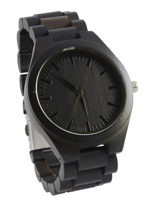 Ebony // Wood Band Watch