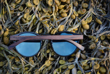 Ebony Wood Sunglasses // POLARIS