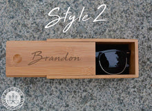 Bamboo Sunglasses Case