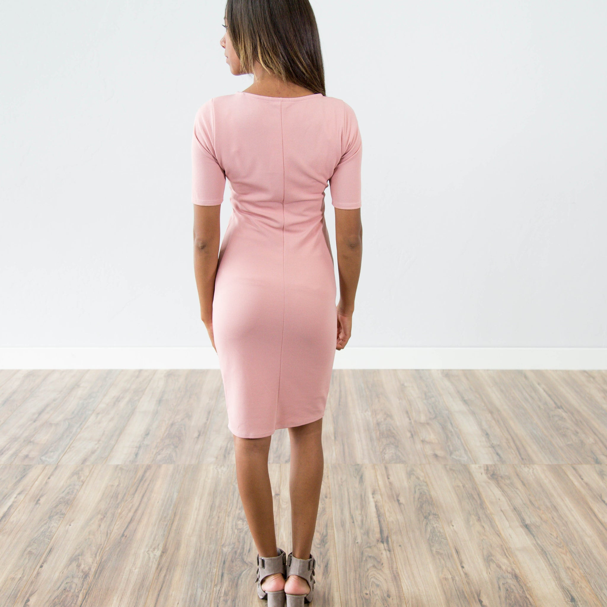 Naomi Dress in Rose