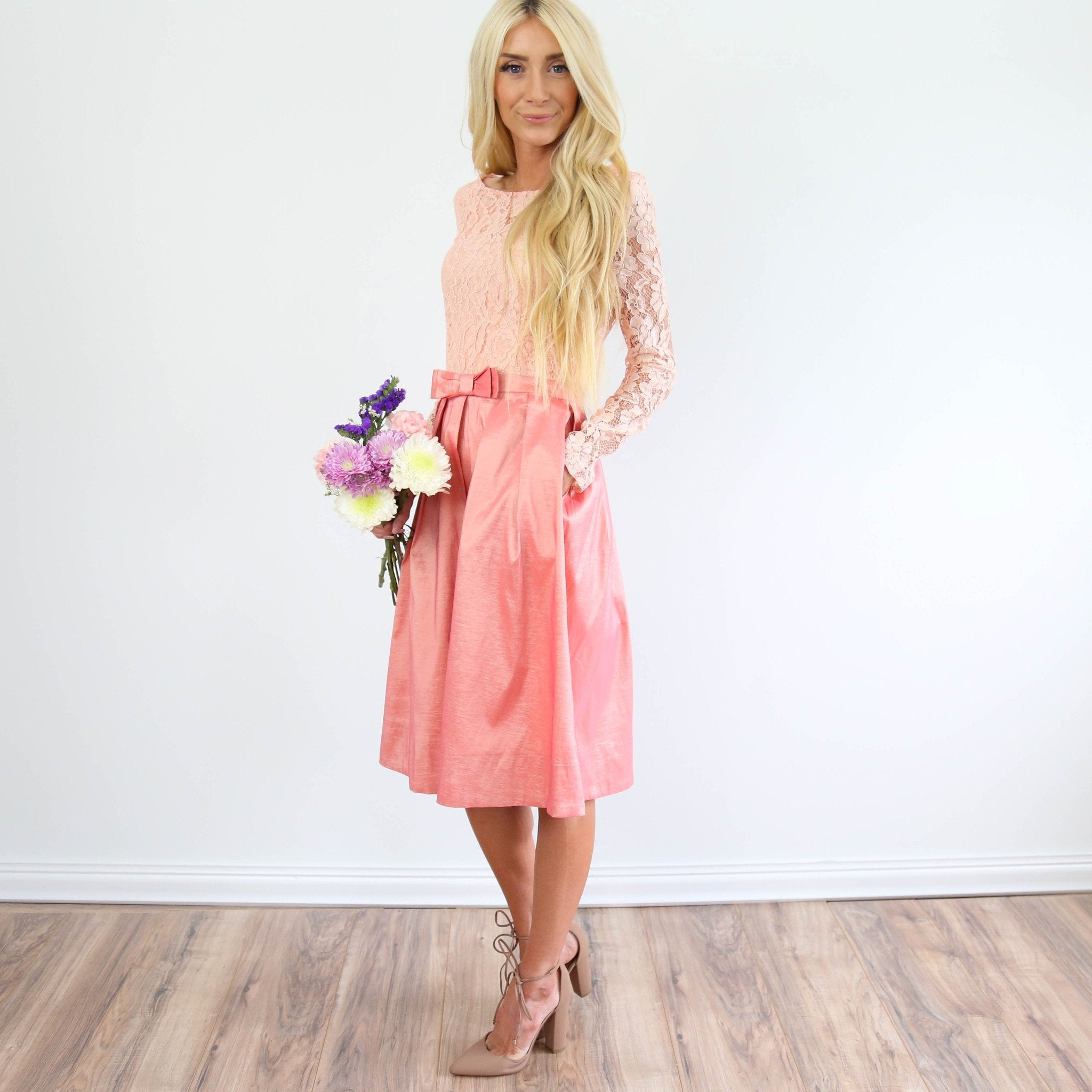 Emma Blush Dress
