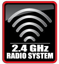 2.4GHz Radio System Included