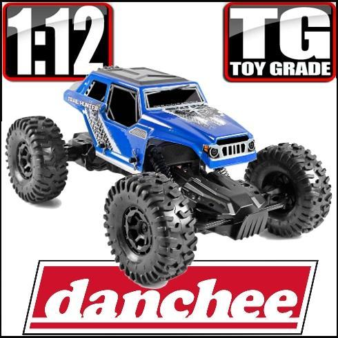 Redcat Racing Vehicle Danchee 1/12 Trail Hunter PRO Toy Grade RC Crawler - Blue