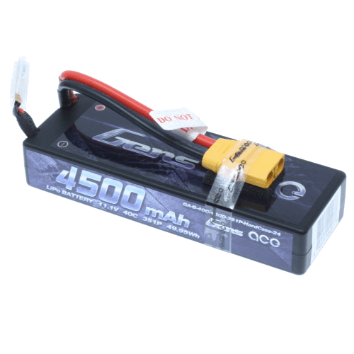 Gens Ace Battery Gens Ace GA-3S-LCG-4500-40C  4500Mah 11.1v 40C 3S1p Hardcase Lipo Battery Pack