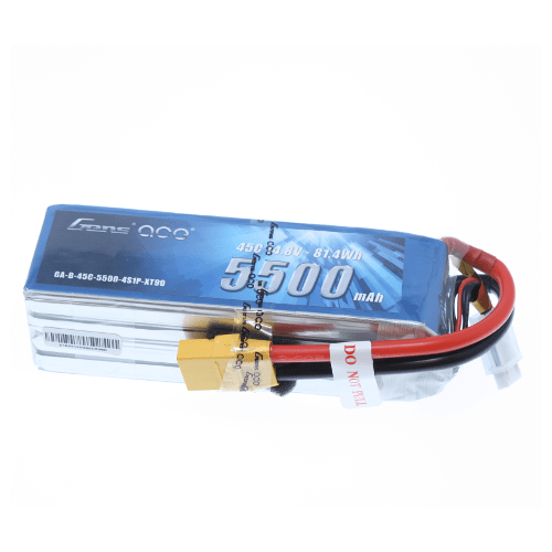 Gens Ace Battery Gens Ace GA-4S-5500-45C-XT90  5500Mah 45C 4S Battery
