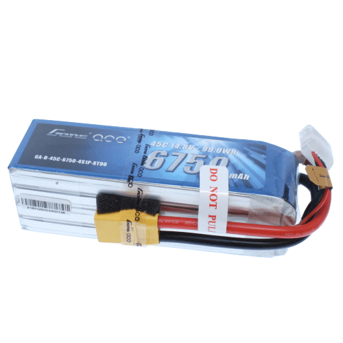 Gens Ace Battery Gens Ace GA-4S-6750-45C-XT90 6750Mah 45C 4S Battery