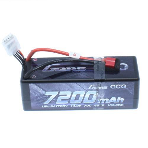Gens Ace Battery Gens Ace GA-4S-7200-70C  7200Mah 4S1p 70C Battery