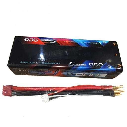 Gens Ace Battery Gens Ace GA-5000100C 5000mAh 7.4V 100C 2S Lipo Battery Pack