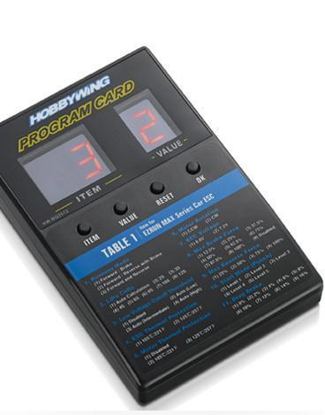 Hobbywing ESC Programmer Hobbywing LED Program Card