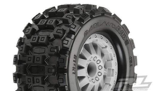 "Pro-Line Wheel Complete Pro-Line Racing 10125-25 Badlands MX28 2.8"" (Traxxas Style Bead) All Terrain Tires Mounted"