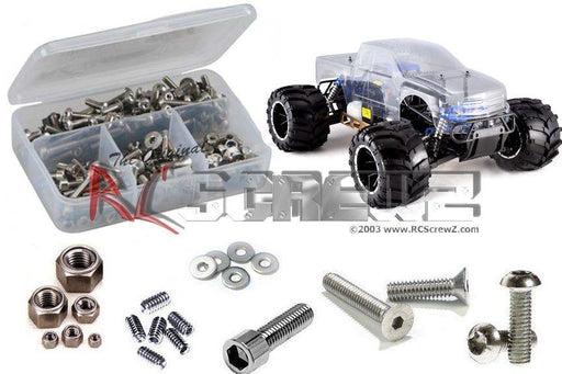 RCScrewz Hardware RCScrewz rcr043 Redcat Racing Rampage MT V3 Stainless Steel Screw Kit