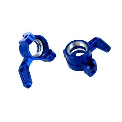 Redcat Racing Hop Up Redcat Racing 050006B Aluminum Front Steering Knuckle - Blue