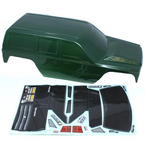 Redcat Racing Body Redcat Racing 13827-V1-G Green Body Shell