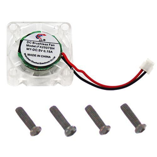 Redcat Racing ESC Cooling Fan Redcat Racing 16806 Brushless Esc Cooling Fan + Mounting Screws (4Pc) - 25Mm
