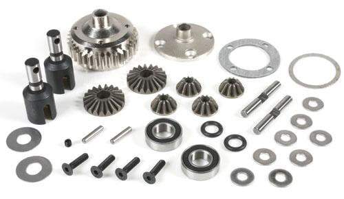 Redcat Racing Hop Up Redcat Racing 505230ST Center Differential Set With Steel Case