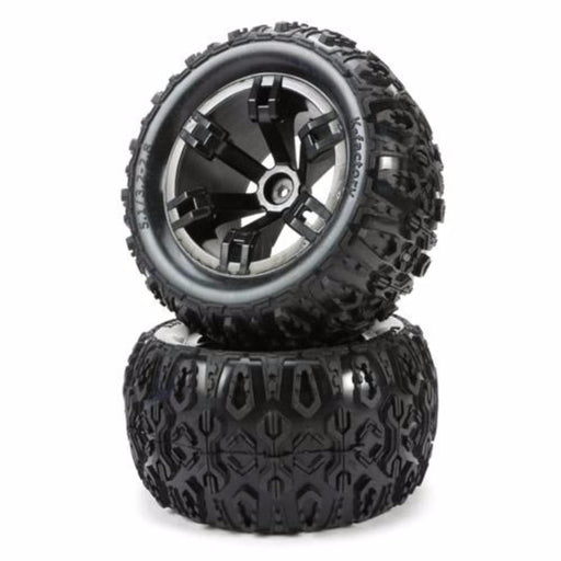 Redcat Racing Wheel Complete Redcat Racing 510136 Mounted Tire (Pair)