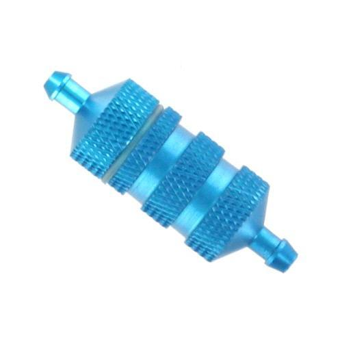 Redcat Racing Hop Up Redcat Racing 80118 Aluminum Fuel Filter - Blue