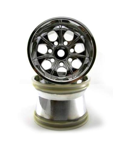 Redcat Racing Wheel Redcat Racing 89106c Chrome Wheels, 2Pcs