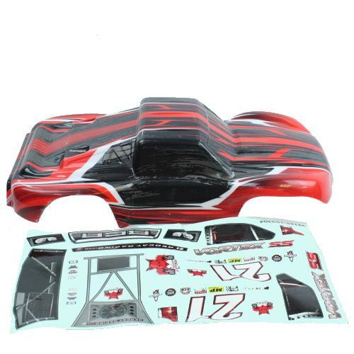 Redcat Racing Body Redcat Racing ATV155-R 1/10 Short Course Truck Body Red