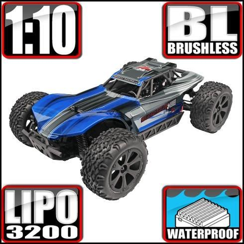 Redcat Racing Vehicle Redcat Racing Blackout XBE PRO 1/10 Scale Brushless Electric Buggy - Blue