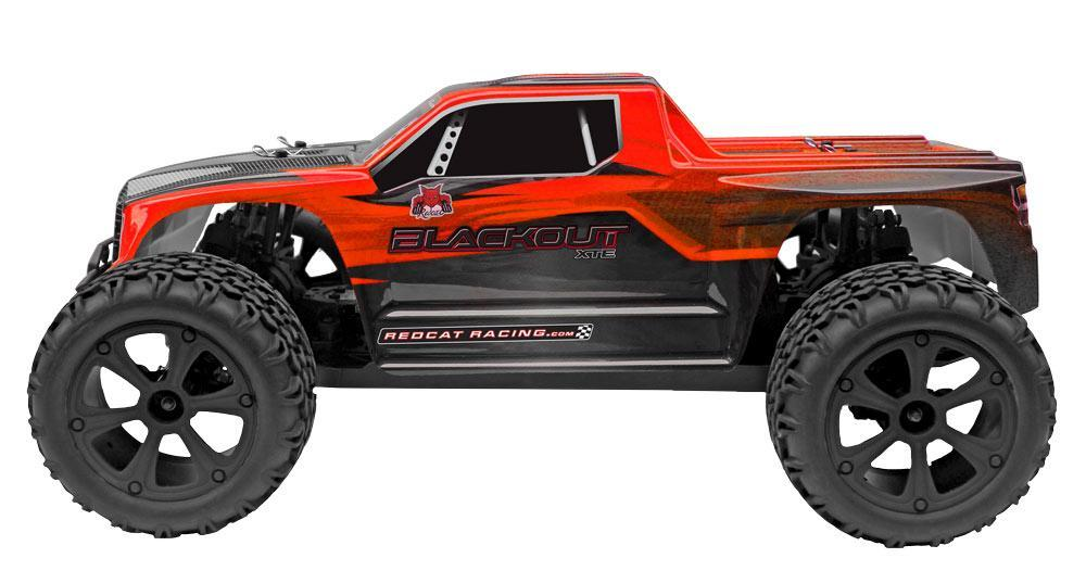 Redcat Racing Vehicle Redcat Racing Blackout XTE 1/10 Scale Electric Monster Truck - Red / Black