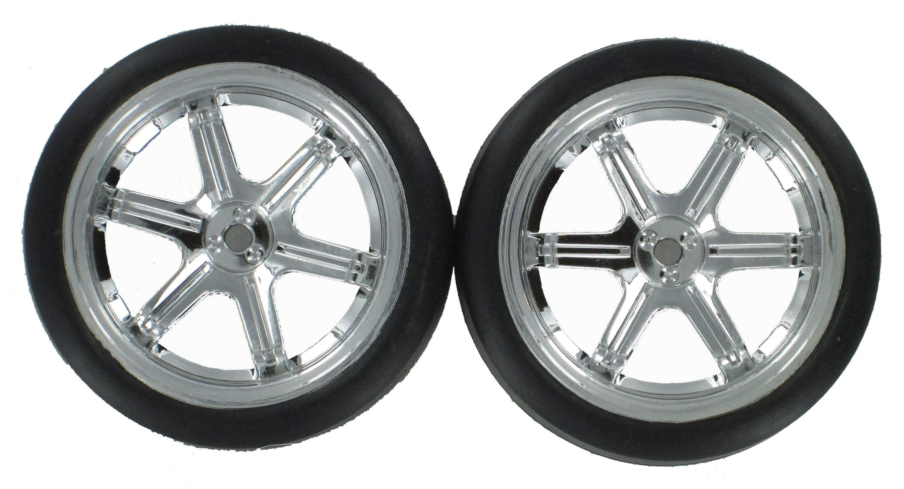 Redcat Racing Wheel Complete REDCAT RACING BS205-011 Road Wheels - Chrome