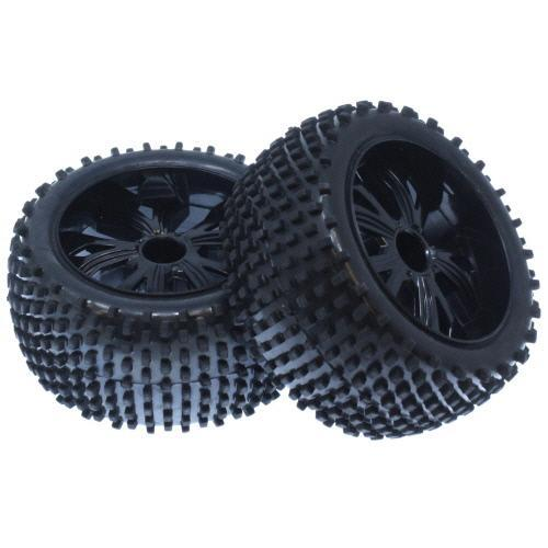 Redcat Racing Tire Redcat Racing BS701-003 1/10 Caldera Xb Buggy Tires, Rear