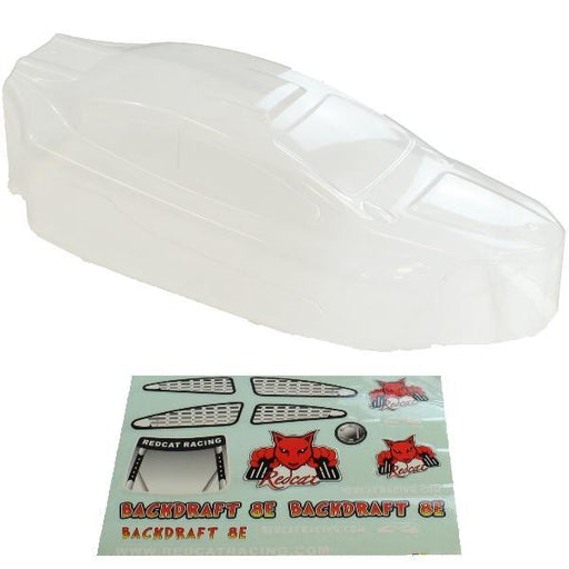 Redcat Racing Body Redcat Racing BS803-003C 1/8 Buggy Body Clear