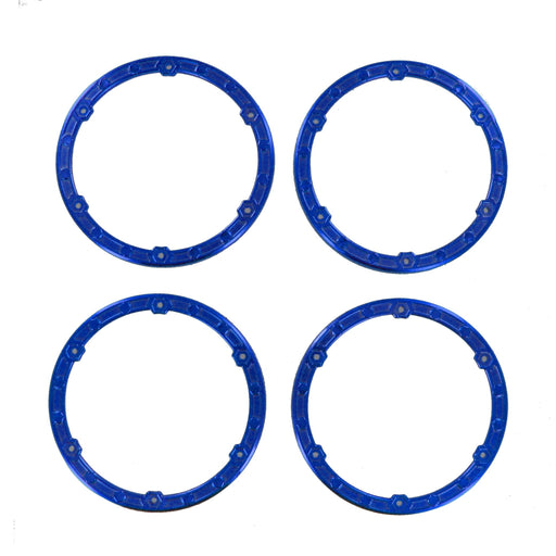 Redcat Racing Tire Redcat Racing BS810-068B Bead Lock Rings, Blue