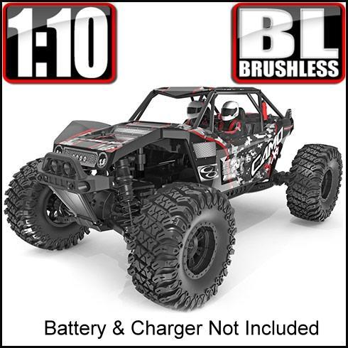 Redcat Racing Vehicle Redcat Racing Camo X4 1/10 Scale Brushless Electric Rock Racer