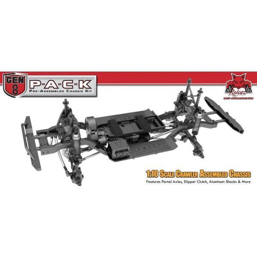 Redcat Racing Chassis Kit Redcat Racing GEN8-PACK Chassis Kit