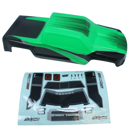 Redcat Racing Body Redcat Racing H10-G Dukono Body, Green
