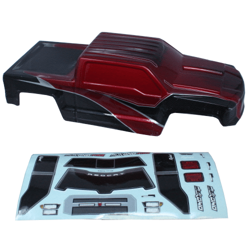 Redcat Racing Body Redcat Racing H10-R Dukono Body, Red