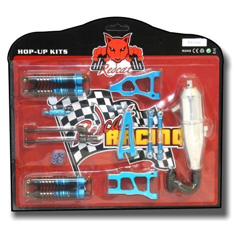 Redcat Racing Hop Up Redcat Racing HU94166 Tornado BB/Tornado S30 Pro Hop Up Kit - Blue