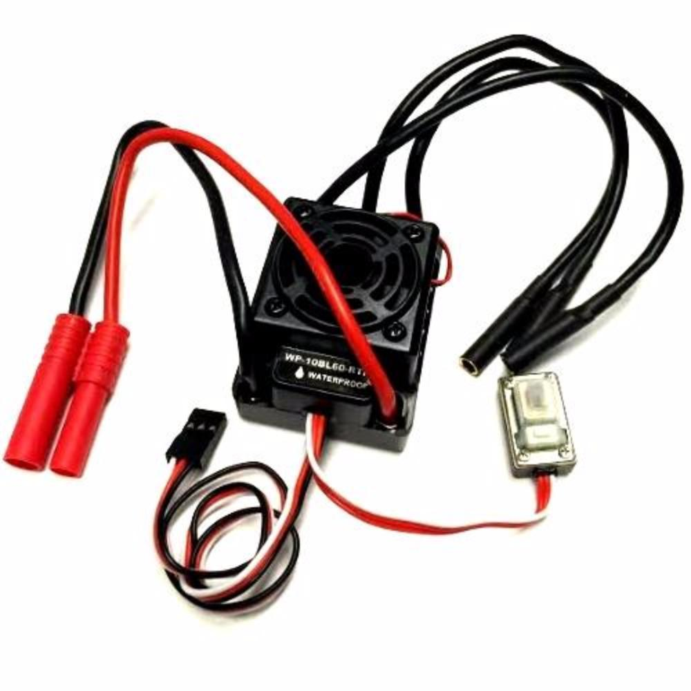 Redcat Racing ESC REDCAT RACING HW-WP-10BL60-RTR Hobbywing 60A Brushless ESC