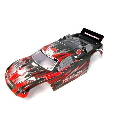 Redcat Racing Body Redcat Racing KB-62080 Off Road Truggy Body- Red Scheme