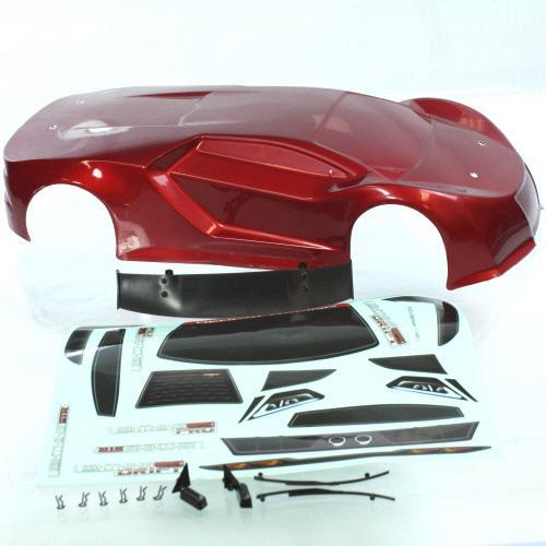 Redcat Racing Body REDCAT RACING R10215 1/10 200mm Onroad Car Body Metallic Red