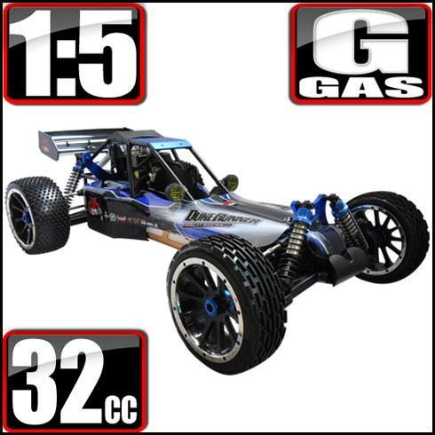 Redcat Racing Vehicle Redcat Racing Rampage Dunerunner V3 1/5 Scale Gas Buggy