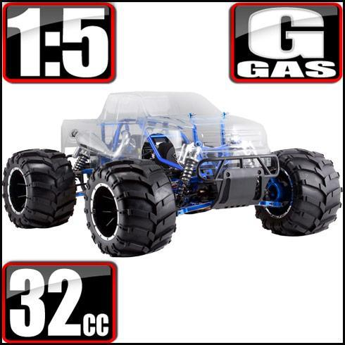 Redcat Racing Vehicle Redcat Racing Rampage MT PRO V3 1/5 Scale Gas Monster Truck