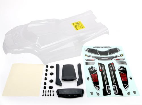 Redcat Racing Body Redcat Racing RT505246 Tr-Mt8-E Body - Clear