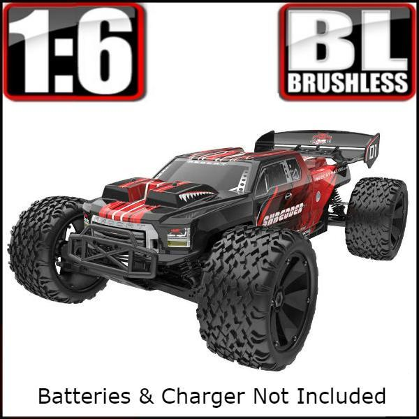 Redcat Racing Vehicle Redcat Racing Shredder 1/6 Scale Brushless Electric Monster Truck