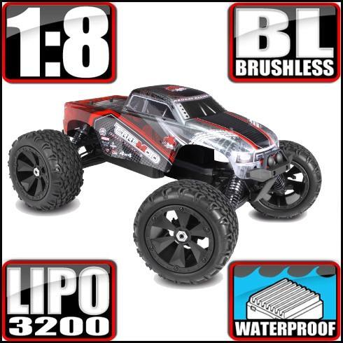 Redcat Racing Vehicle Redcat Racing Terremoto V2 1/8 Scale Brushless Electric Monster Truck